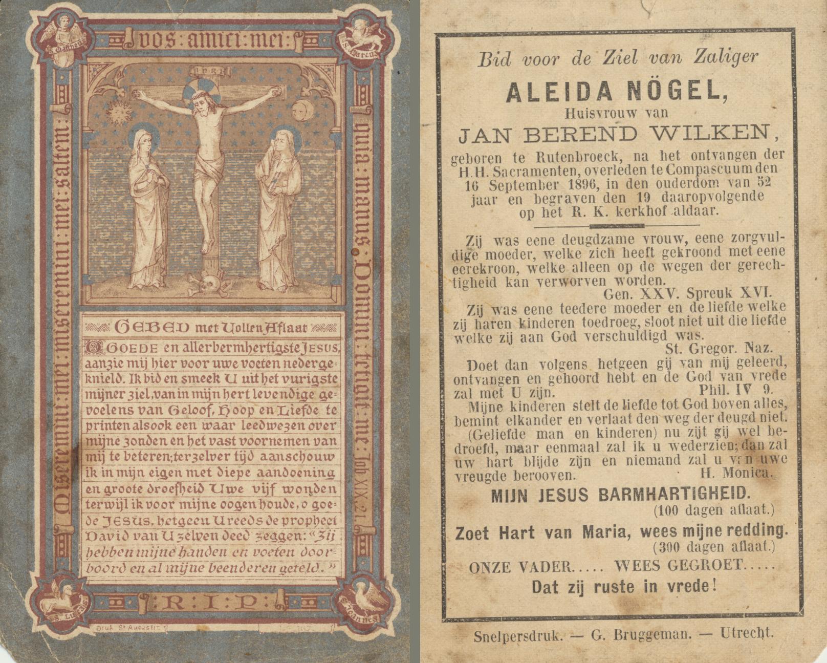 anna-aleida-nogel-1844-1896 bidprentje