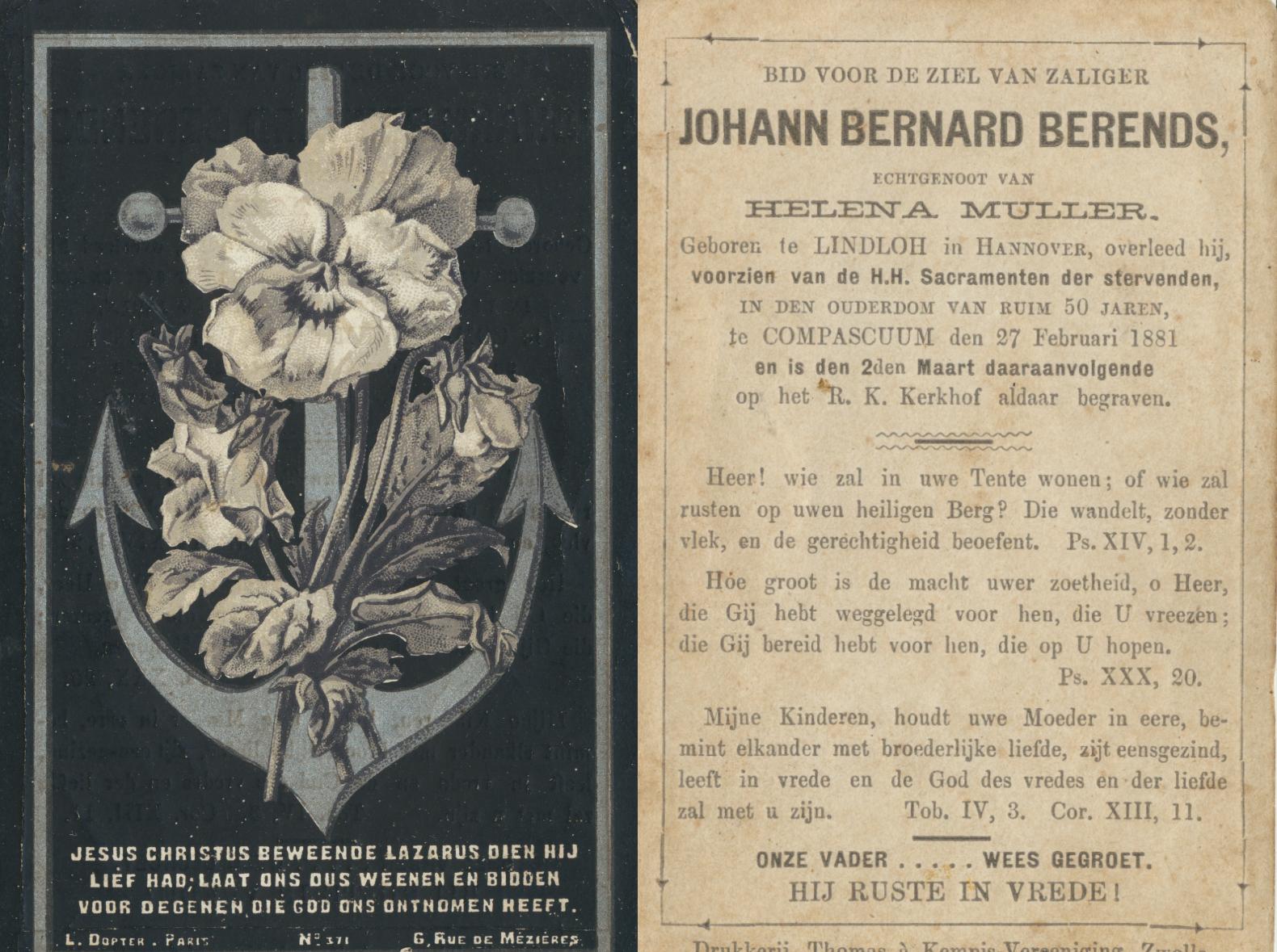 johann-bernard-berends-1831-1881 bidprentje